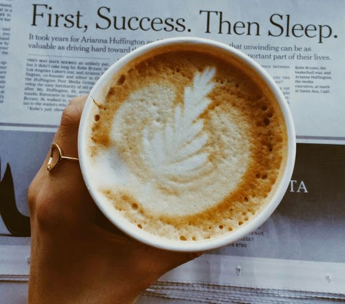coffee latte success