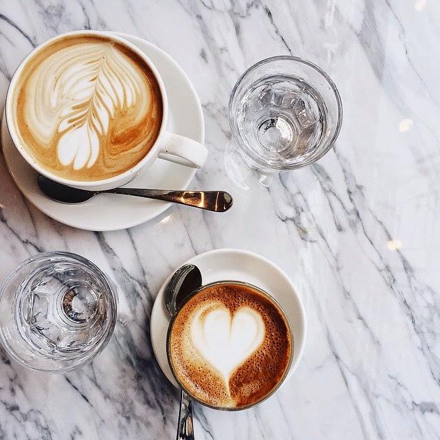 latte coffee date artwork