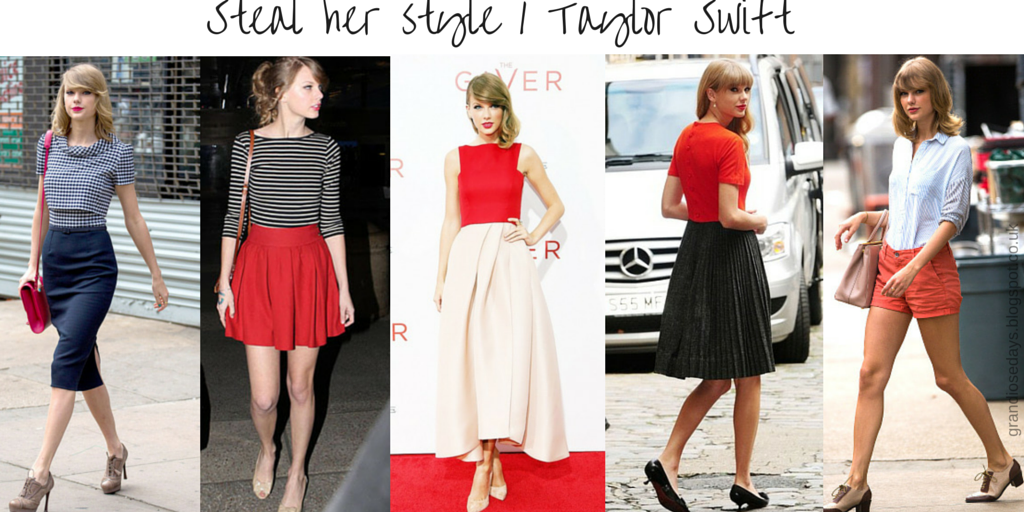Steal Her Style Taylor Swift Fashion Grandiose Days