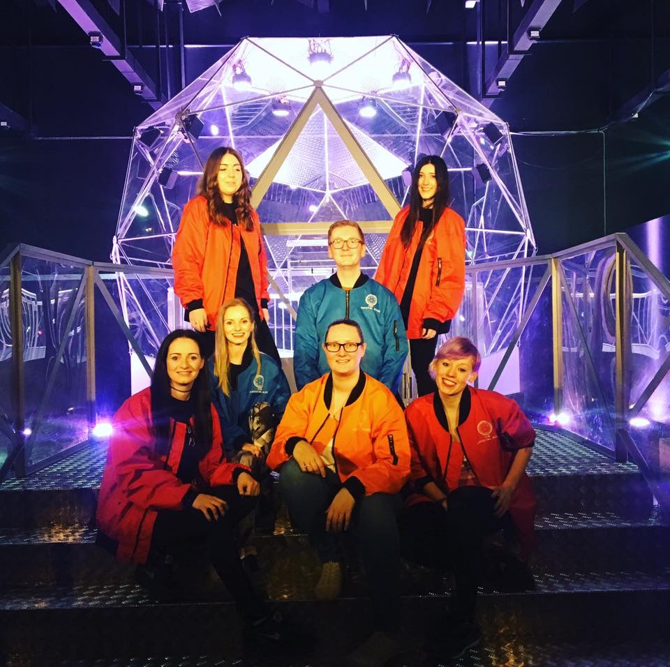 Crystal Maze Experience team photo