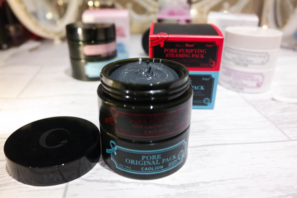 Caolion Skincare Charcoal Face Mask Review