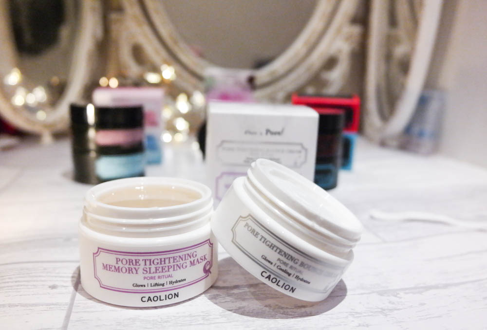 Caolion Skincare Night and Day Cream Review
