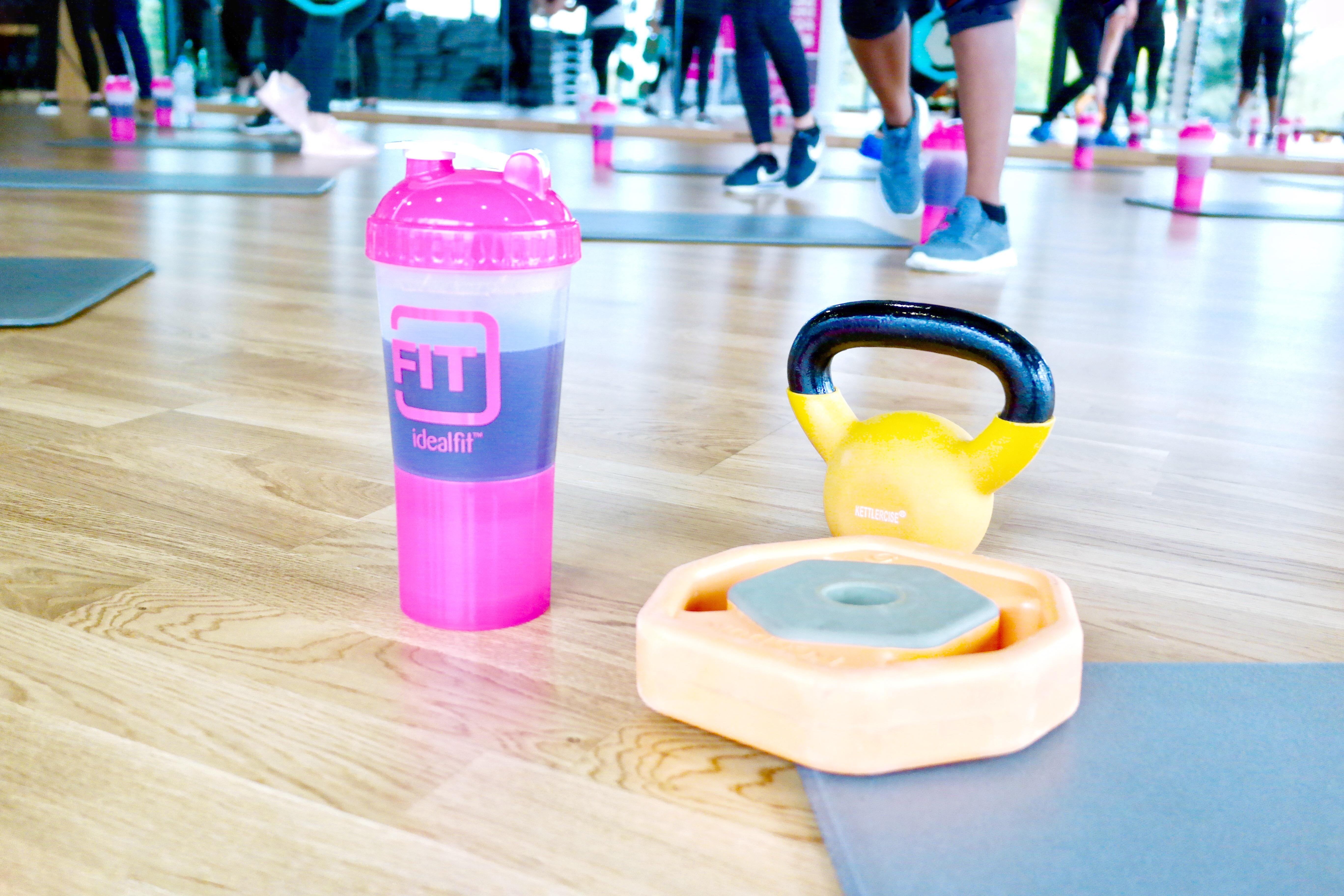 IdealFit HIIT Training Fitness Blog Event