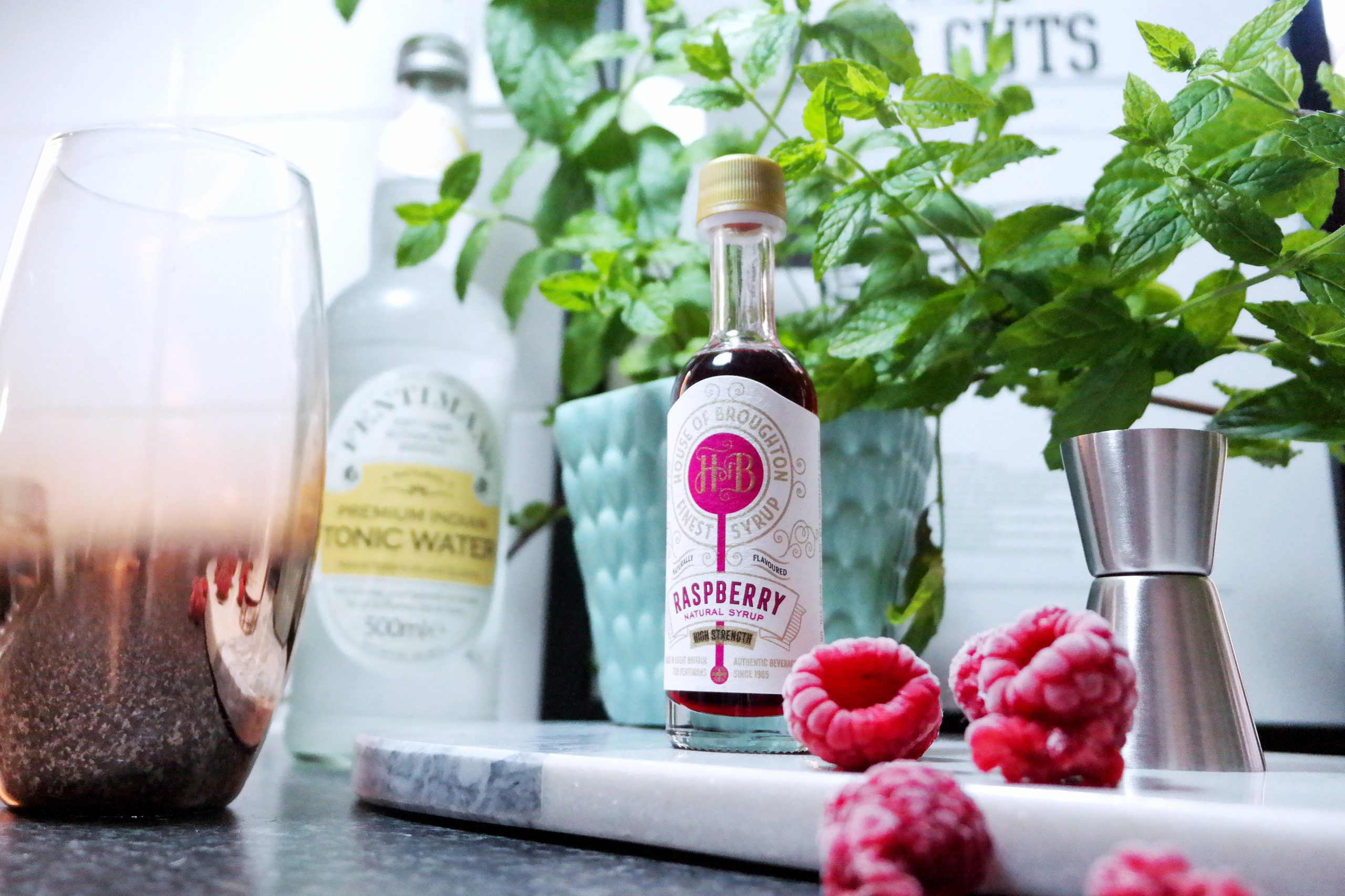 house of broughton syrups fentimans berry mint