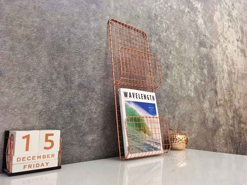 Industrial Concretre Effect Wallpaper Office Room