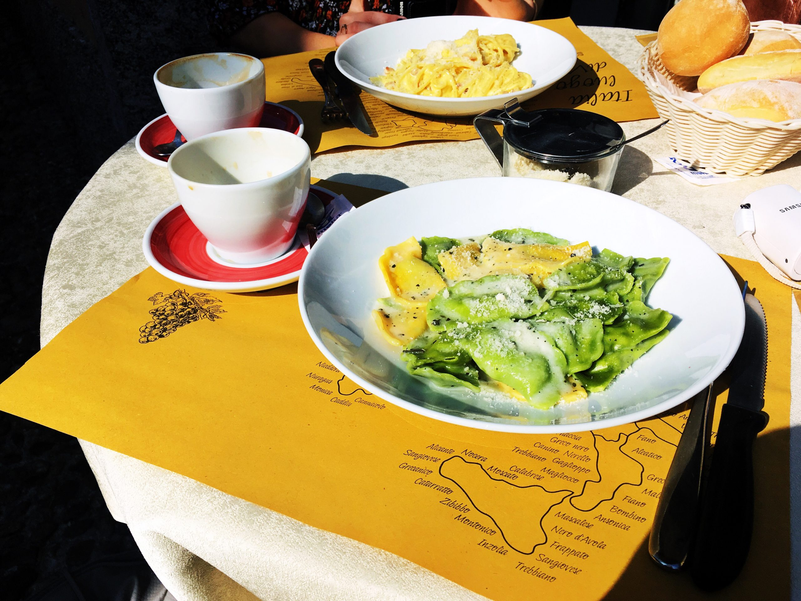 Grandiose Days milan food pasta tastes without waste