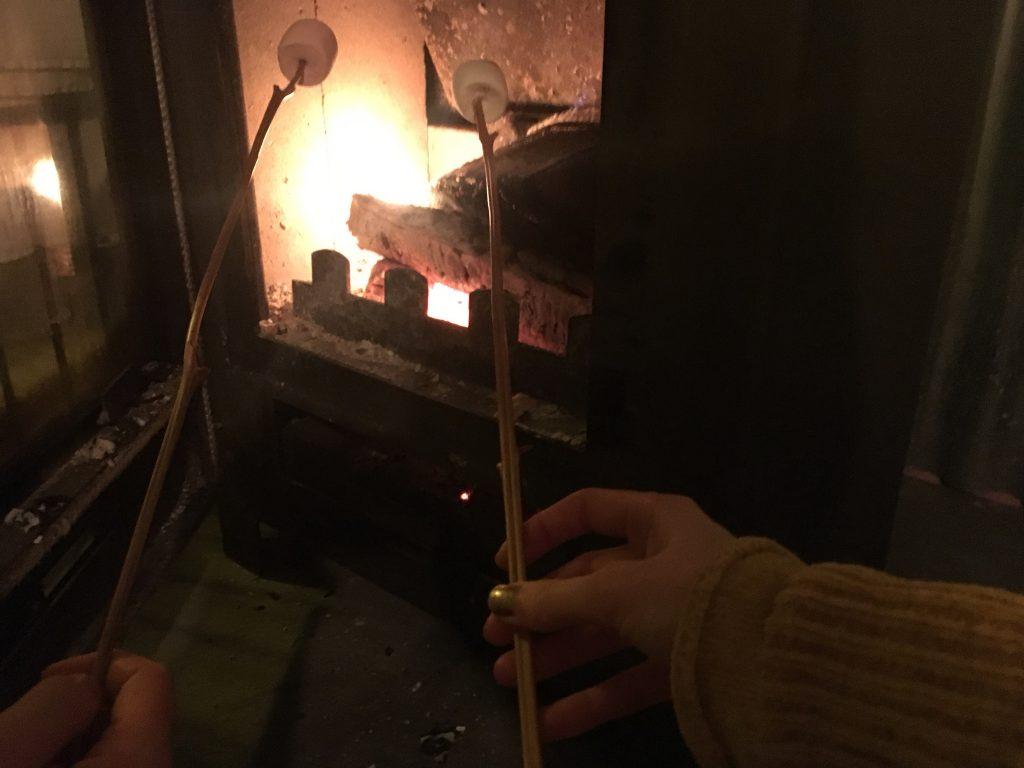 Toasting Marshmallows North Star Club