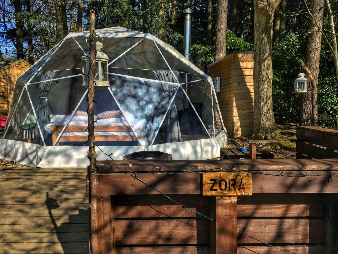 Geodome Yorkshire Dales Glamping