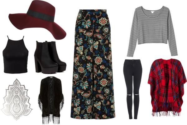 Autumn Fashion Inspiration Boho Layers Trends