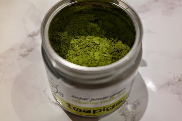 matcha green tea tin