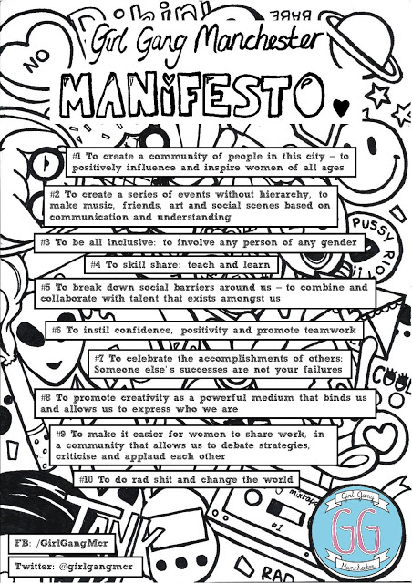 the girl gang manchester manifesto