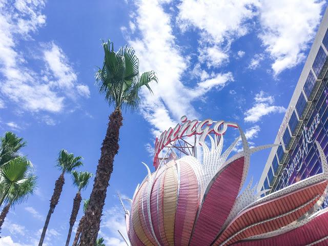flamingo hotel casino las vegas skyline