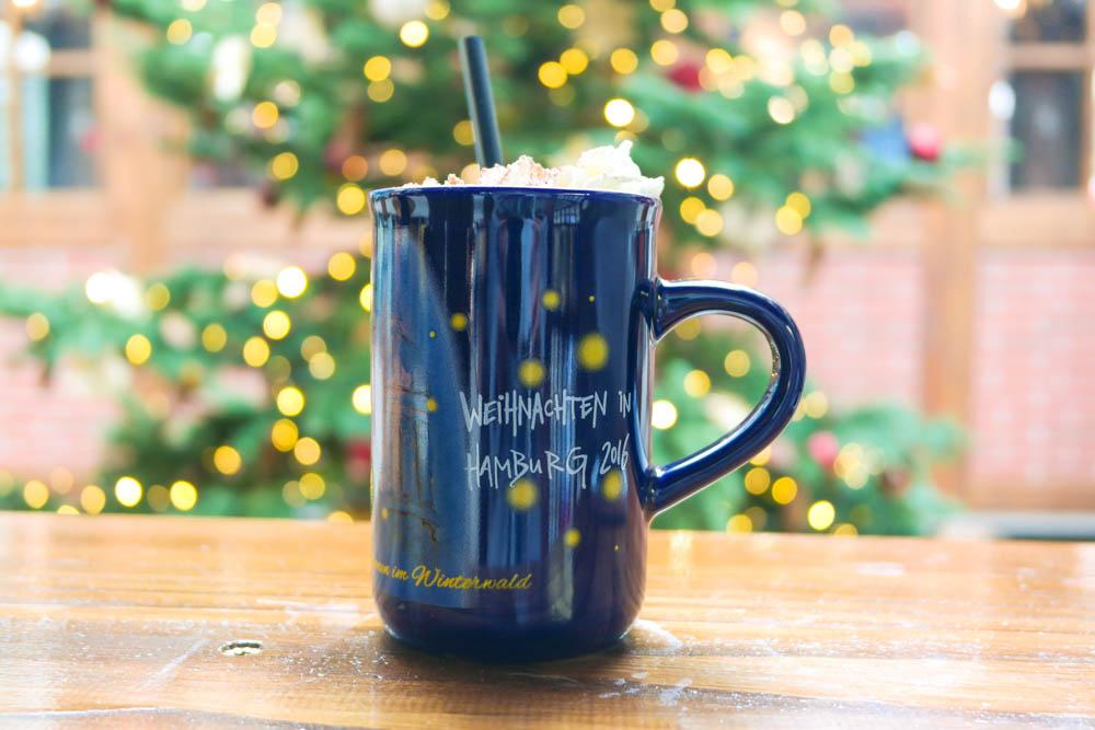 festive hot chocolate at hamburg christmas markets