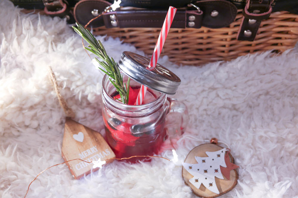 Festive Mocktail Flatlay Fentimans