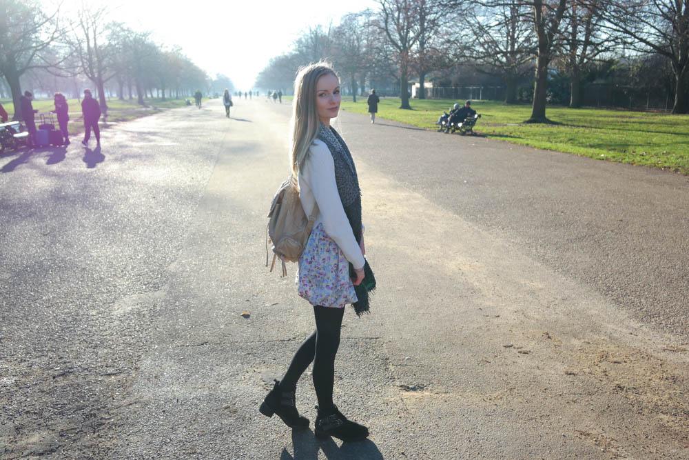 Hyde Park London Fashion Blogger