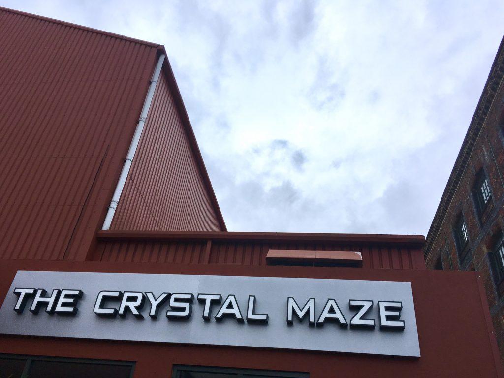 Crystal Maze experience exterior building Granada studios