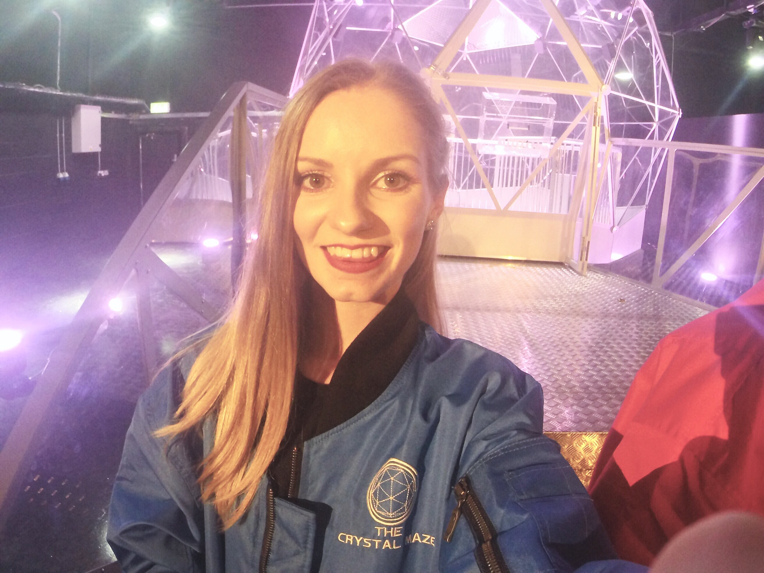 Crystal Maze Experience Manchester press day crystal dome