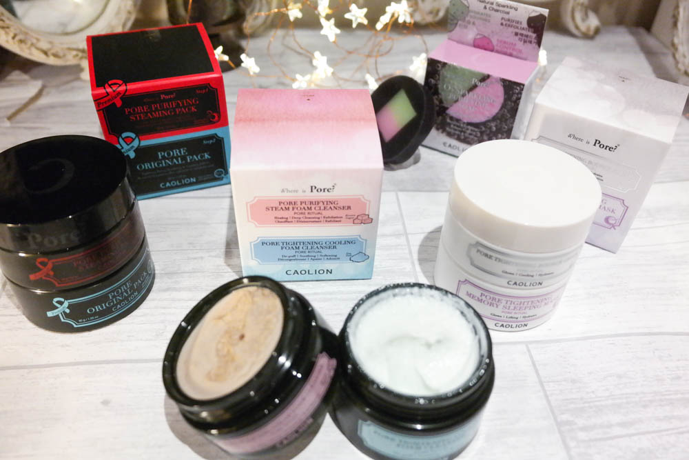 Caolion Korean Skincare Products Review