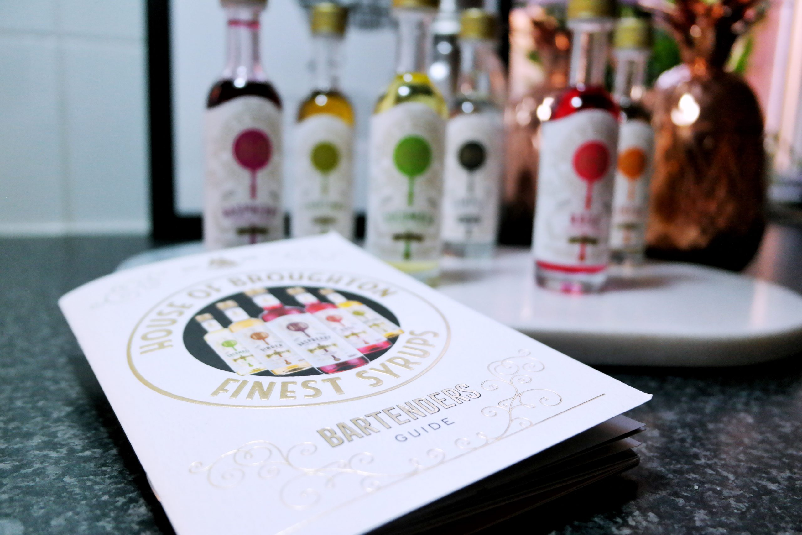 house of broughton syrups fentimans bartenders guide