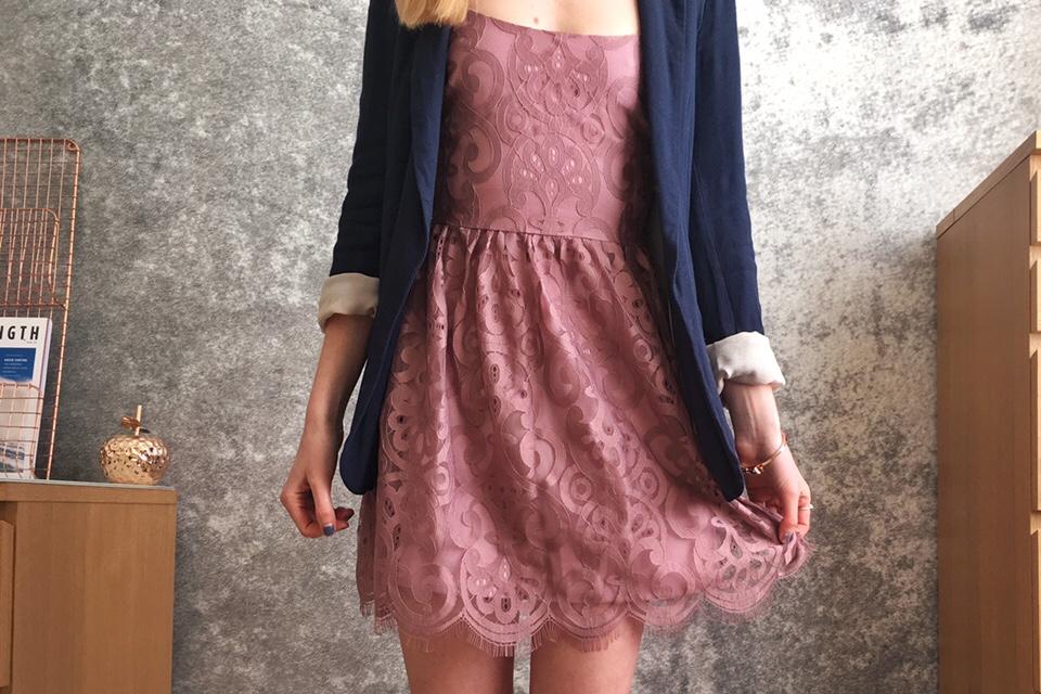 Tobi clothing grandiose days lace dress