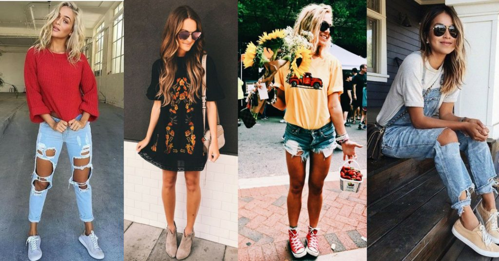 Pinterest casual chic daytime outfit