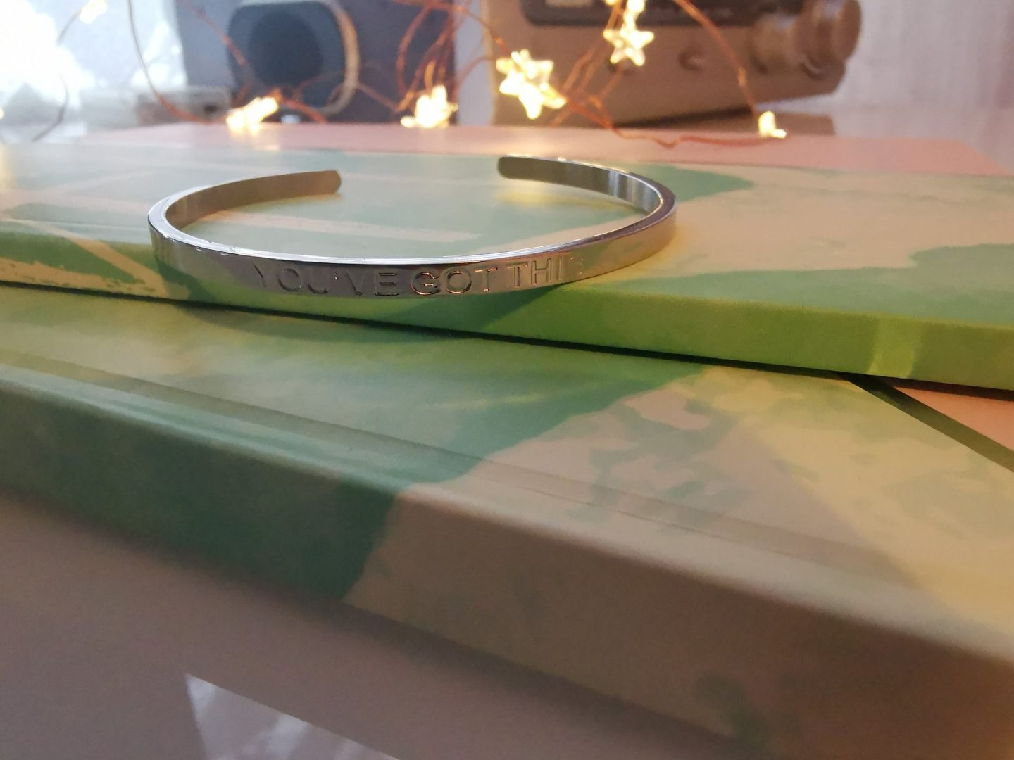 Soul Analyse Silver Affirmation Bracelet - Youve Got This