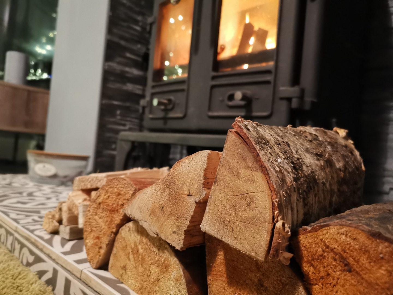 Quality hardwood for log burners