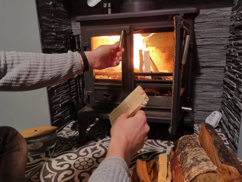 Maintaining Log Burner