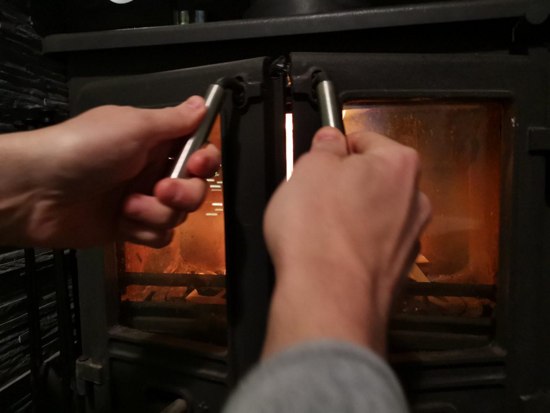 Check Log Burner for Wear